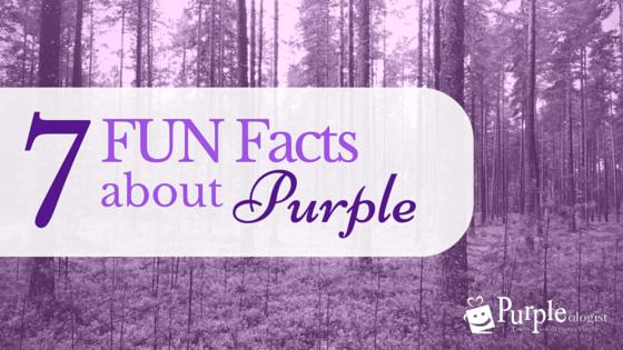 7 Fun Facts About Our Favorite Color Purple Purpleologist